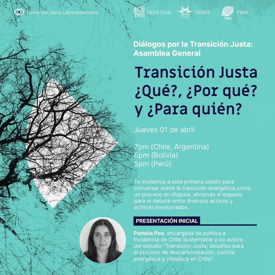 Organizaciones latinoamericanas inician diálogos por una Transición Justa con Asamblea General Temática